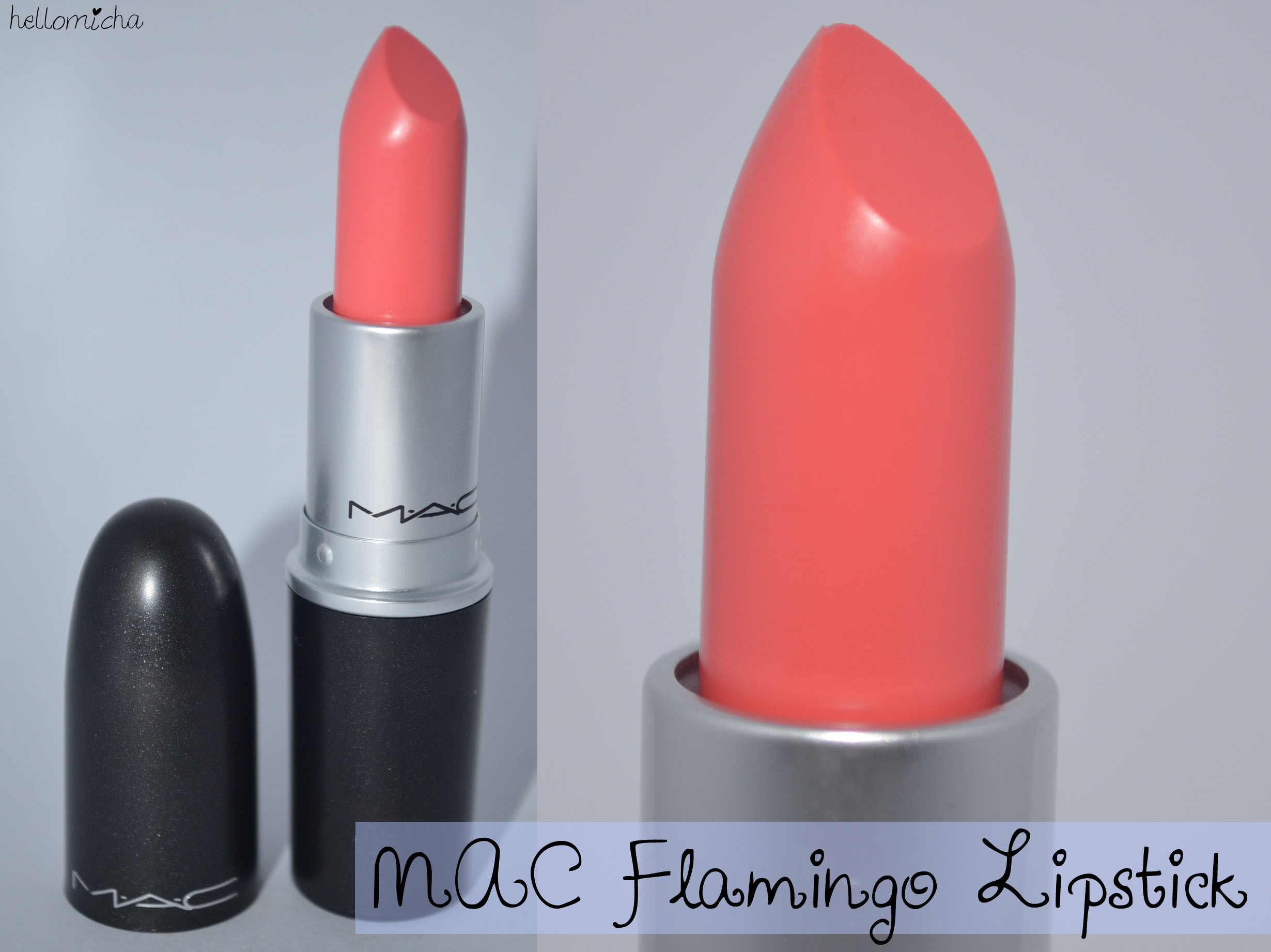 Mac Flamingo Lipstick Review Hello Micha
