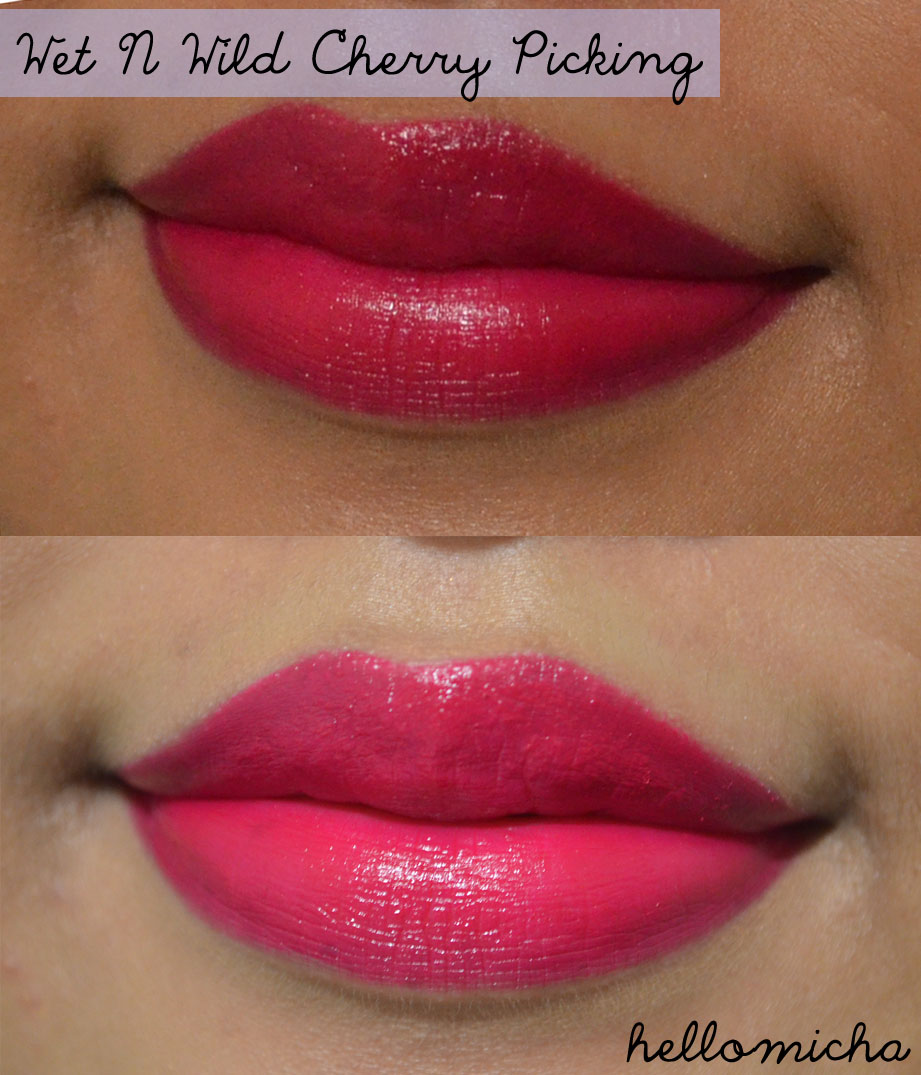 wet n wild cherry picking review hello micha