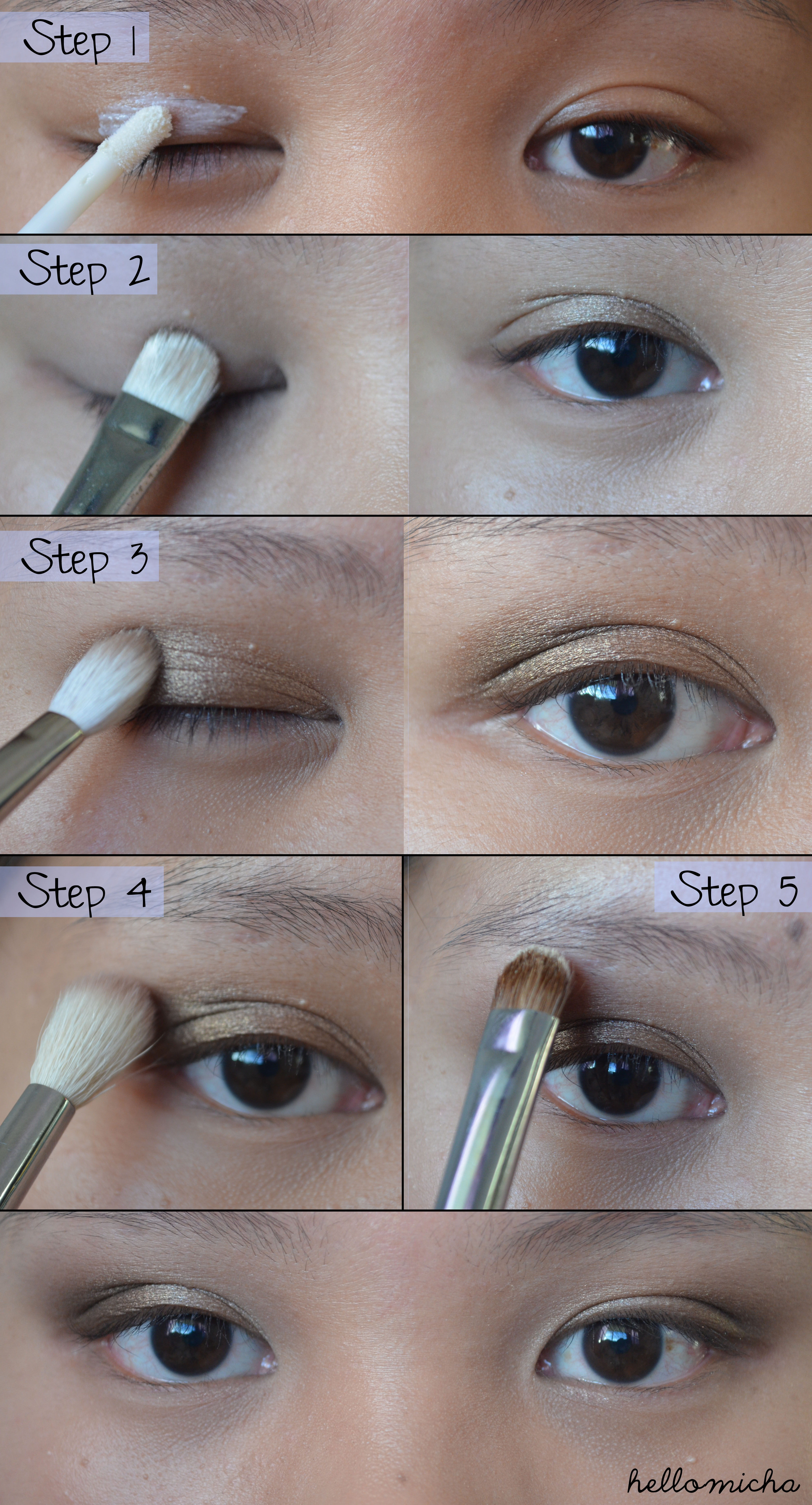 Concealer Creasing: Simple Day Look With Urban Decay Naked 2 Palette